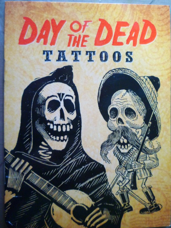 day of dead temporary tattoos