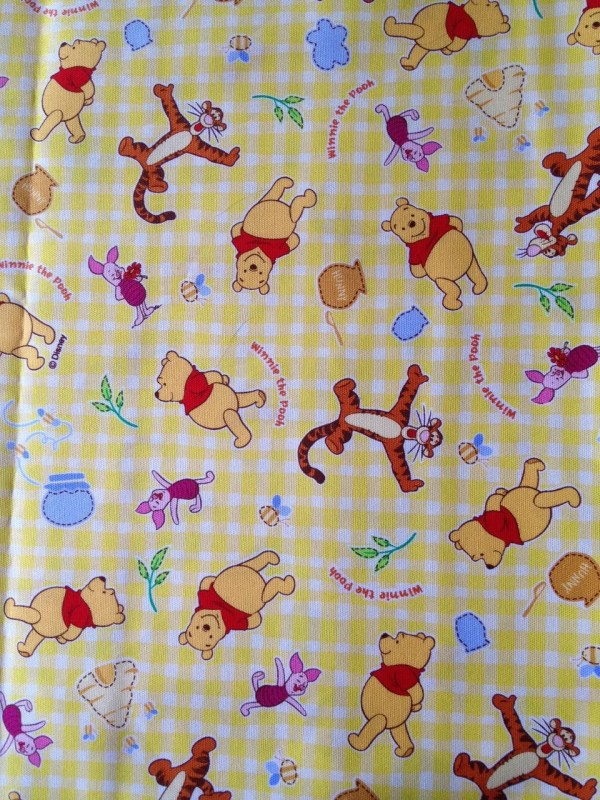 Winnie Pooh Disney Fabric 100cm X 70cm