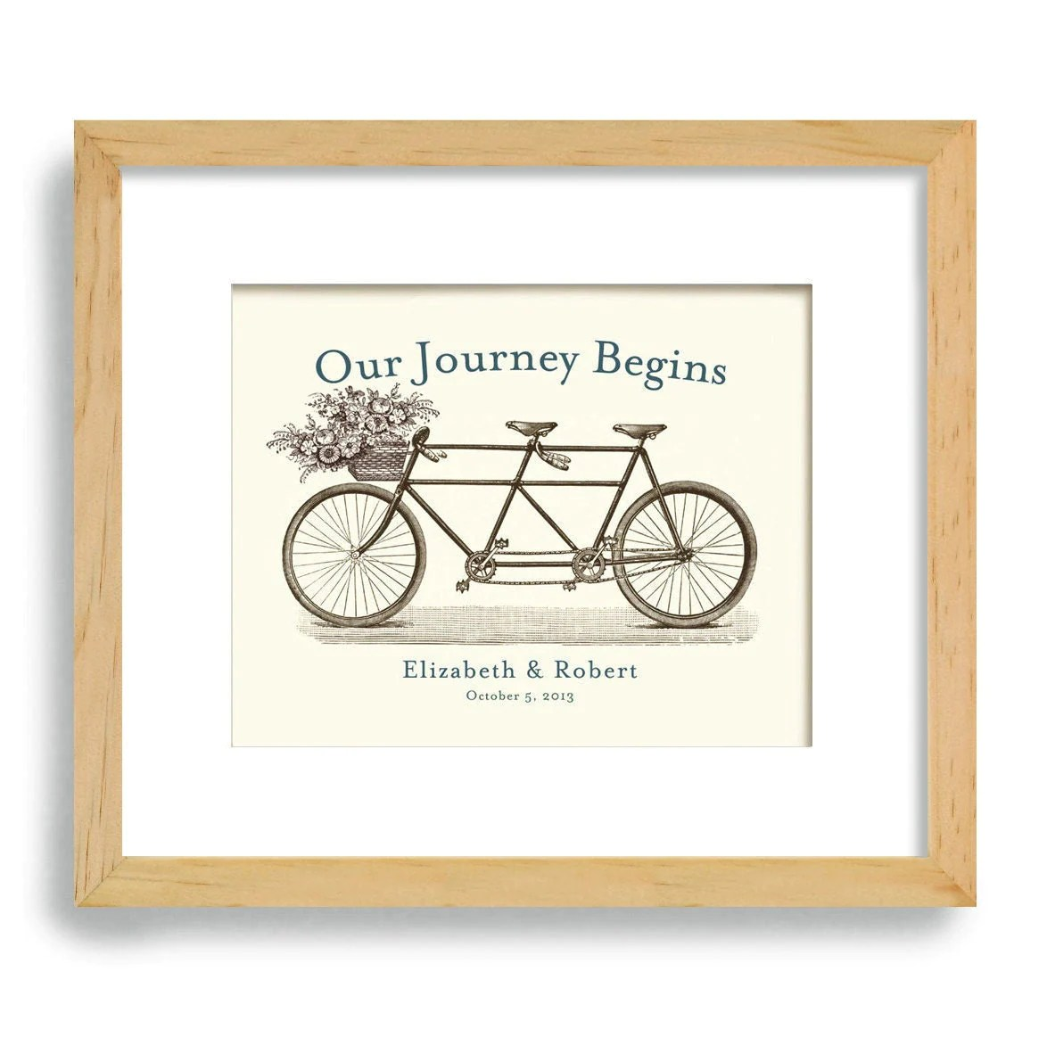 Unique Engagement Gift Personalized Wedding Gift Wedding
