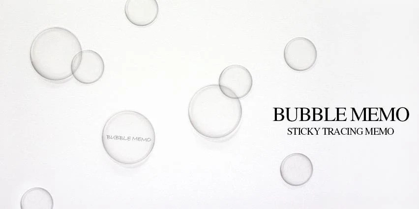 Bubble Tracing Paper Sticky Note / Notepad / Memopad