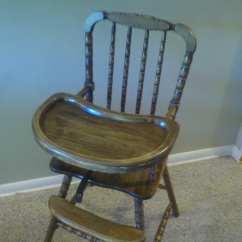 Jenny Lind Rocking Chair White Bean Bag Stool Vintage High