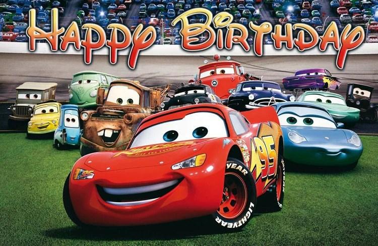 Disney Cars Birthday Banner