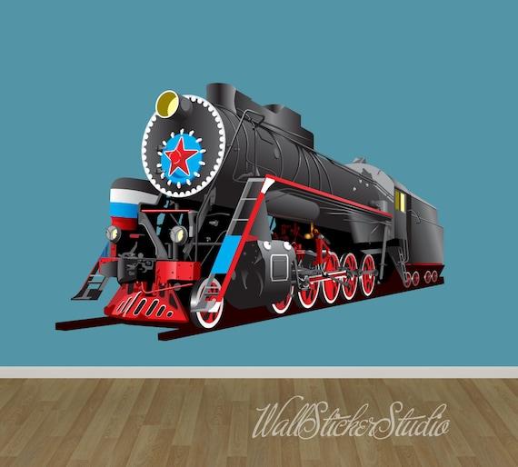 Train Wall Decal by WallStickerStudio