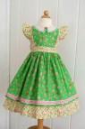 Pdf Girls Dress Pattern Georgia Vintage Size