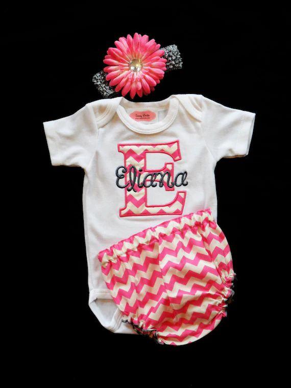 monogrammed newborn clothes