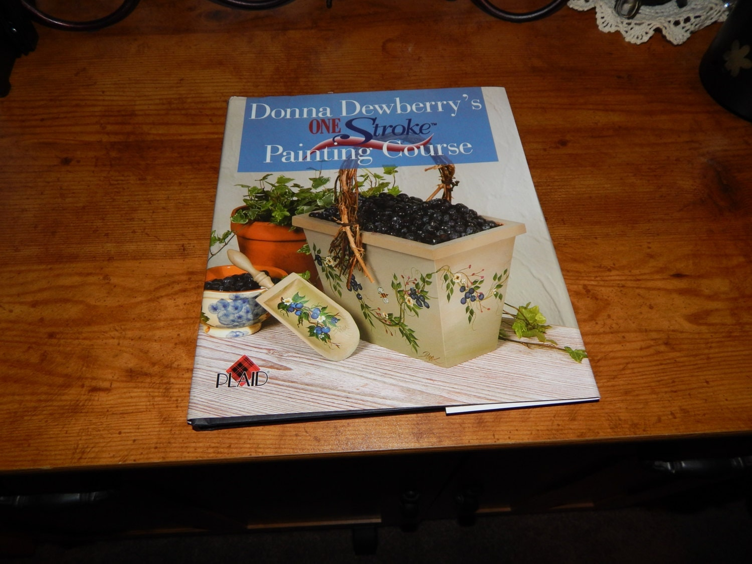 New Hardback Donna Dewberry S One Stroke Painting Course