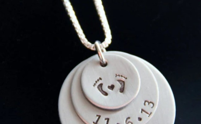 Unique Gift For New Mom Grandma Jewelry First Mothers Day