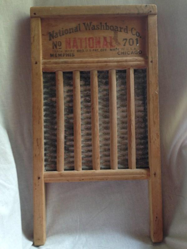 Antique National Washboard