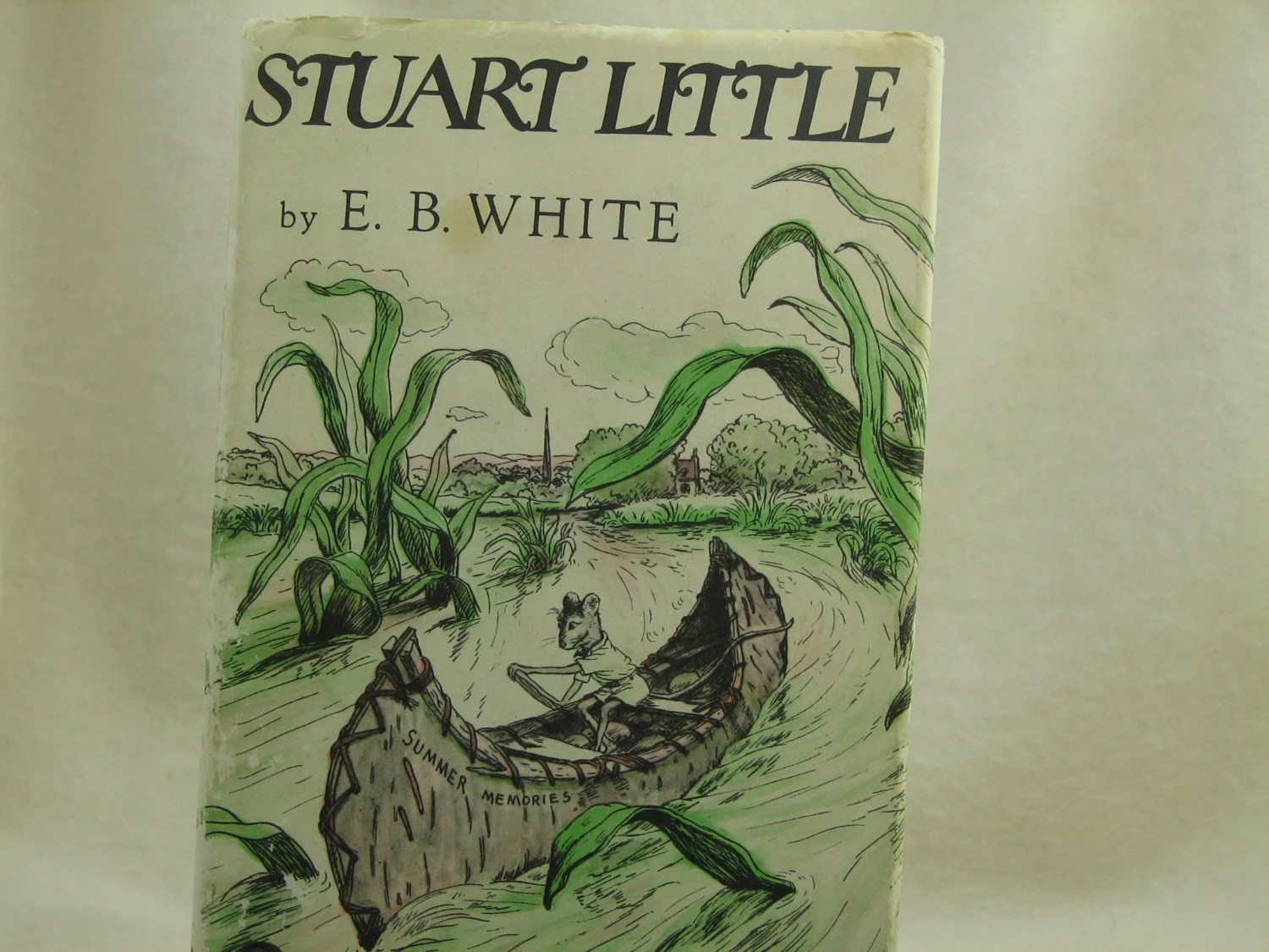 Childrens Books Stuart Little E B White By Nestingcomforts