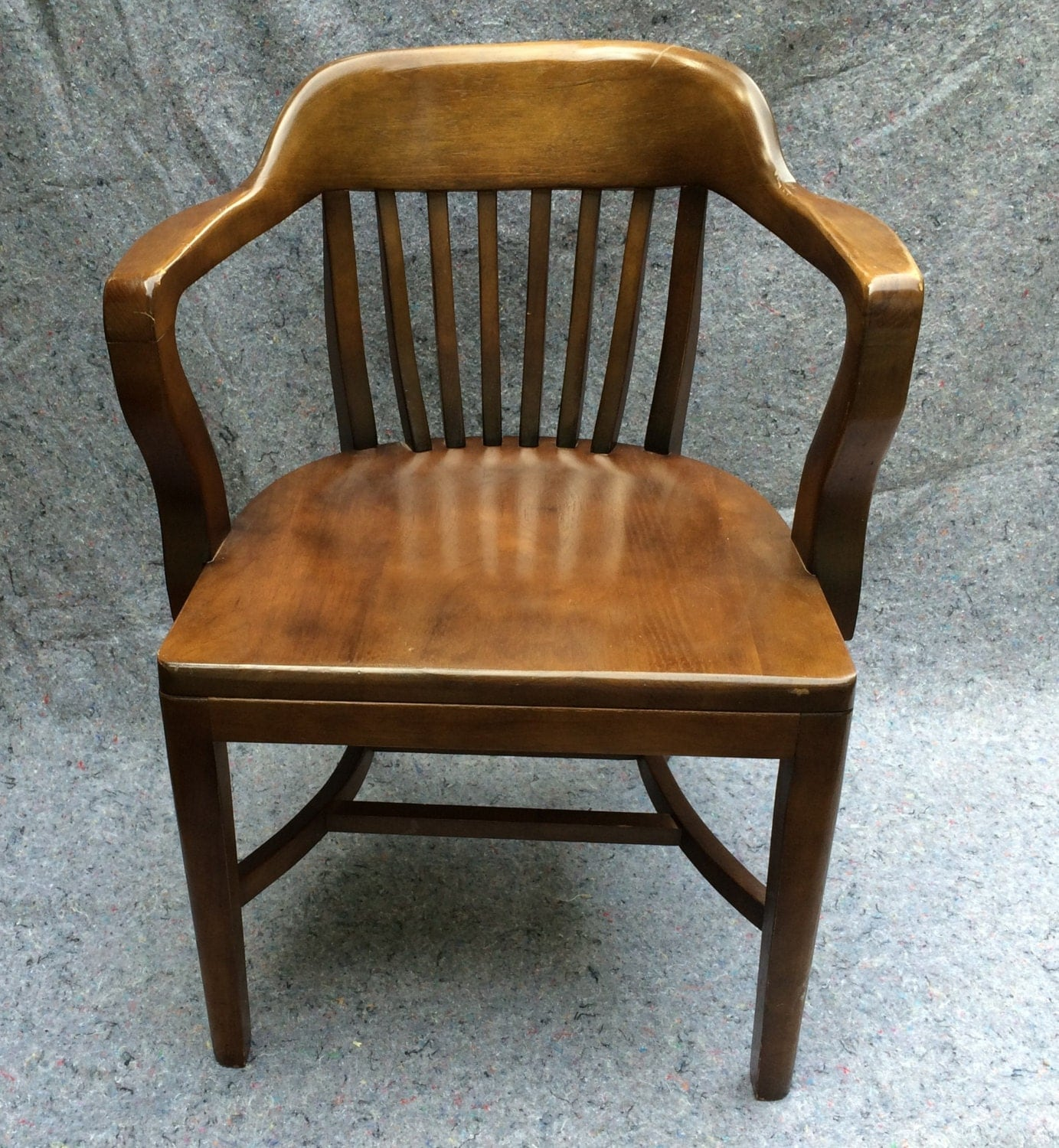Bankers Chairs Vintage Bankers Chair Library Chair Boling Chair North