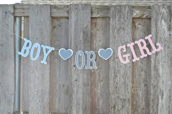 Boy or Girl Banner, Boy or Girl sign, Boy or girl, Gender reveal banner, Gender reveal, announcement banner, gender announcement banner