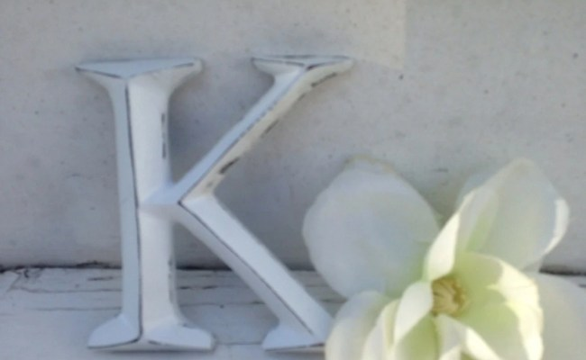 Items Similar To Wall Decor Shabby Chic Letters 4