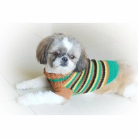 Items similar to Teacup Chihuahua Clothes Rasta Stripes ...