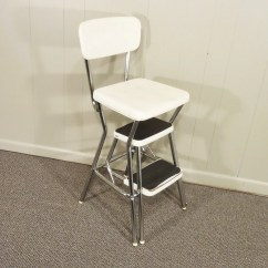Chair Step Stool Lexington Dining Chairs Retro Cosco 50s Vintage Kitchen