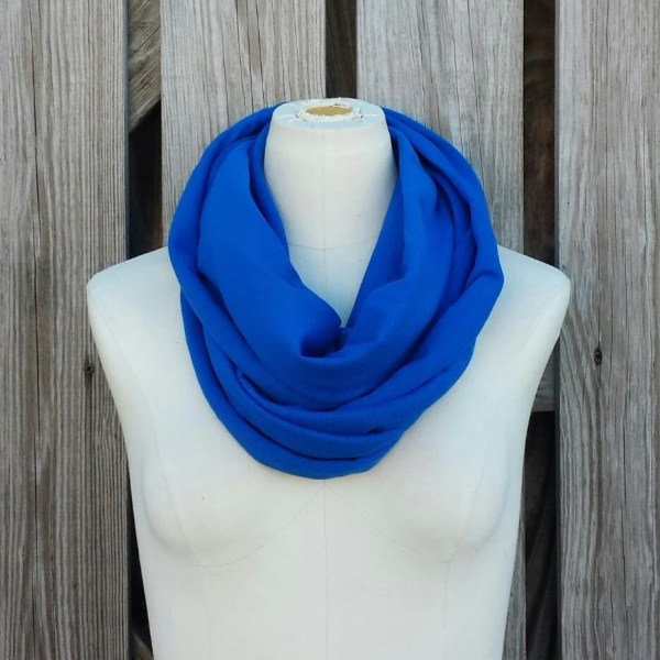 Items similar to Royal Blue Infinity Scarf The GRANDE
