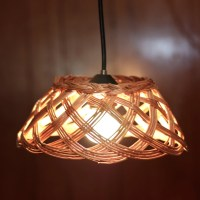 Items similar to Basket Pendant Light - Repurposed basket ...