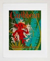 Caribbean Travel Poster Wall Art Print ZT304