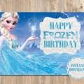 Frozen birthday card happy birthday cards by 4mustardseeds