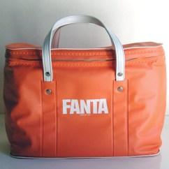 Folding Chair Nepal Swivel Problems Cooler Bag Vintage Fanta