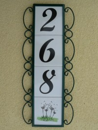 decorative house numbers - 28 images - decorative house ...