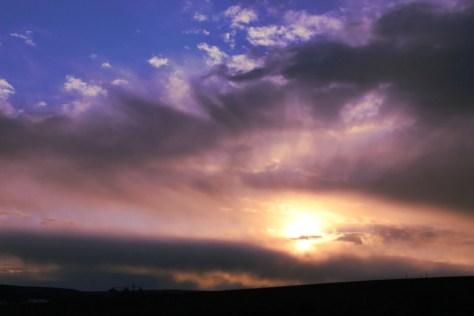 Sunset desktop wallpaper...