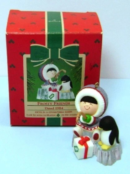 1984 Frosty Friends Hallmark Collectors Series Ornament