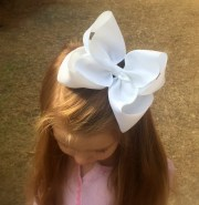 extra large hair bow big