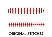 baseball stitches machine embroidery
