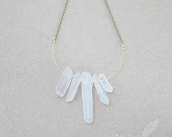 Organic Triangle Amazonite Pendant COLORS vary from by