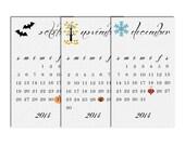 Items similar to 2013 DIY Printable 12 month calendar on Etsy