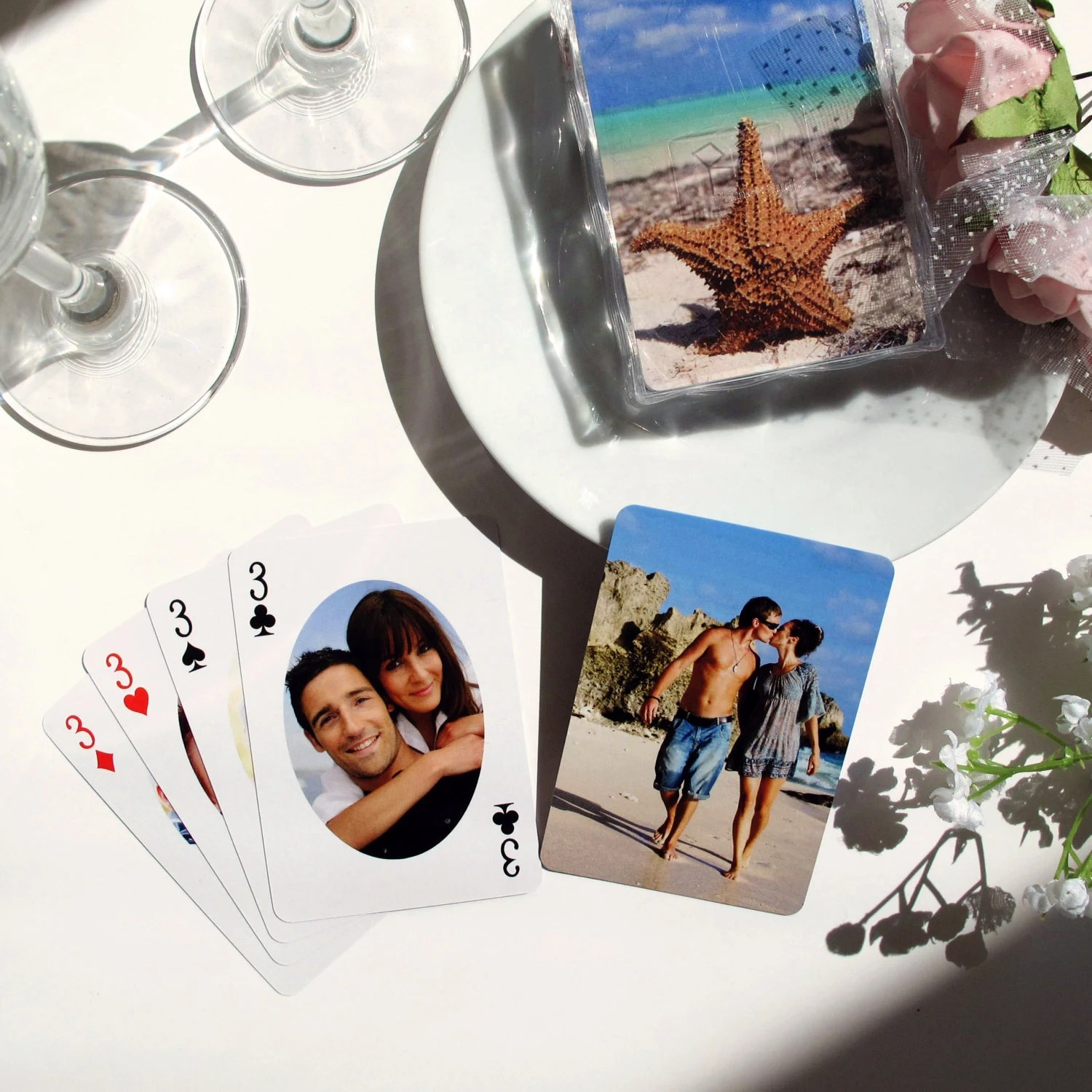 Personalized Casino Wedding Party Favors Custom Bachelor Party Playing Cards Unique Las Vegas