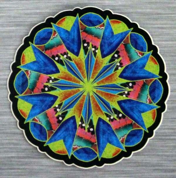 Mystical Journey Mandala Sticker Outdoor Bumper Stickers
