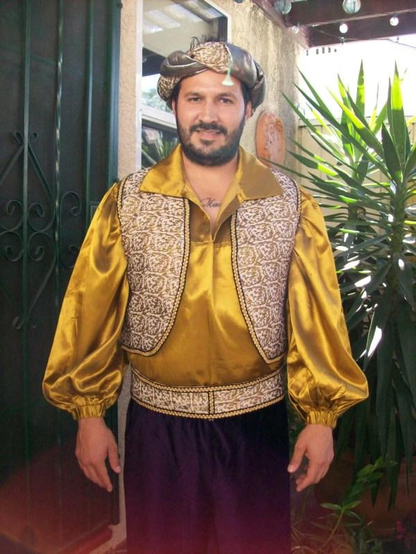 Reserved Taymade03 Arabian Prince Costume Men