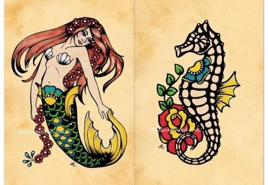 Sun Moon Star Tattoo Designs