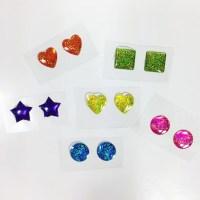 90s Sticker Earrings / Stick on Earrings / 90s Earrings / 90s
