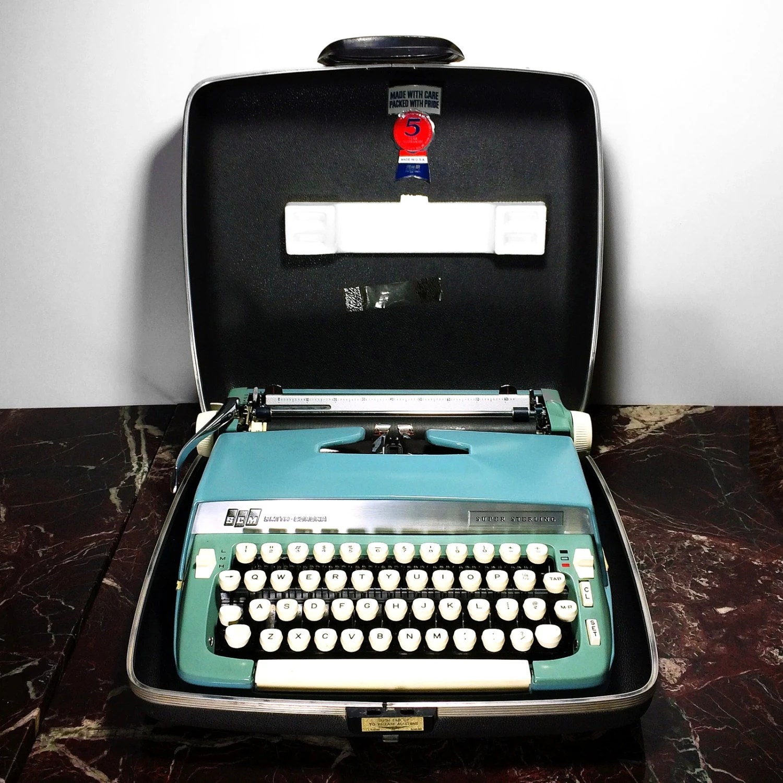 Old Smith Corona Manual Typewriter