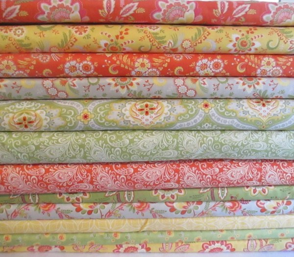 High Street Fabric Bundle Moda Lily Ashbury Fat Quarter