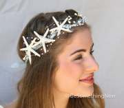 starfish crown beach wedding headpiece