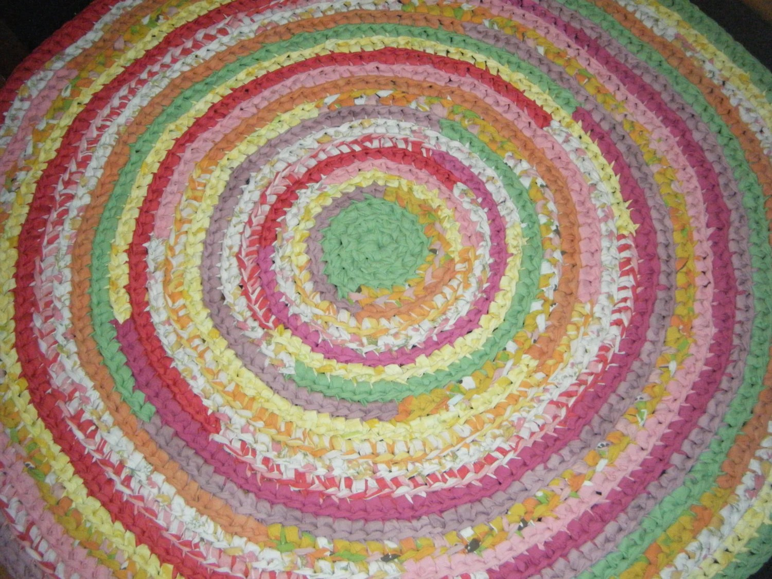 Bright Multi Colored Childrens Rug or Nursery Rug for Etsy