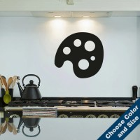Paint Pallet Wall Decal Vinyl Sticker Free Shipping