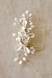 bridal hair comb. wedding decorative
