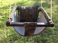 Items similar to Outdoor Baby Swing with Support Pillow ...