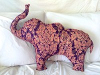 NEW ITEM Elephant Body Pillow