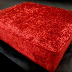 Sofa Cushion Foam Types Commercial Sofas And Chairs Custom Seat 26 X 24 5 Amber