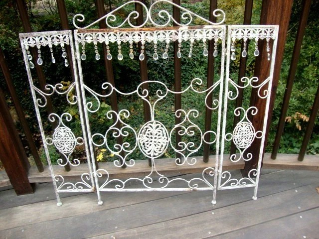Vintage Victorian Style Wrought Iron Fireplace By AnnasDream
