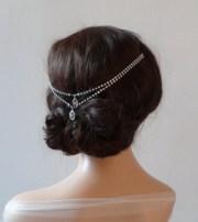 1920s wedding headpiece bohemian