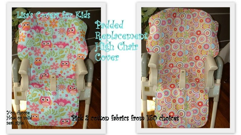 baby trend high chair cover replacement racing simulator lisa's covers for kids by lisascoversforkids on etsy
