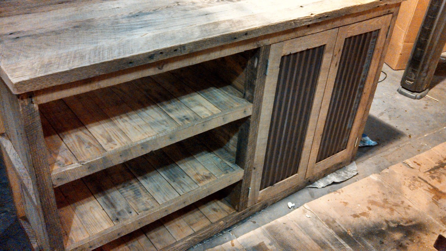 YOUR Custom Made Rustic Barn Wood Vanity With By