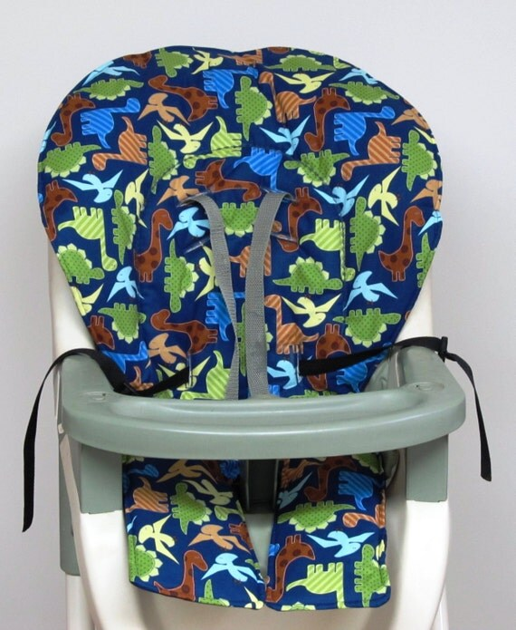 GRACO high chair cover pad replacement dinosaurs