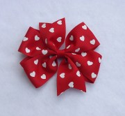 boutique hair bow valentine's day